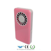 Mini handheld air conditioning refrigeration rechargeable usb mini fan students creative portable handheld leaves small electr
