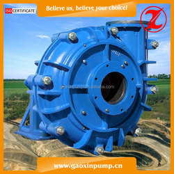 Gaoxin Rubber Lined 4/3D-AHR Centrifugal Slurry Pump