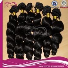 many Stocks Wholesale Nice Tangle Free Natural Spring Curl Virgin Peruvian Hair Weft Accept Paypal Alibaba China
