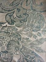 Upscale European Silk Jacquard Fabric For Curtain Sofa