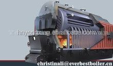 2t/h DZL steam boiler coal/wood/sawdust pellet fuel from Yongxing OEM hot sale