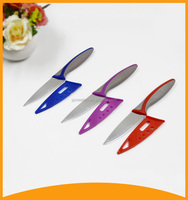 2015 high quality 3 pcs stainless steel knife set with pp sheath