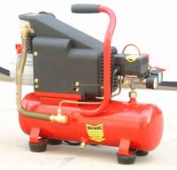 1hp 6L small portable mini air compressor 110v