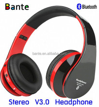 AAA Quality Foldable Wireless Micphone FM Radio TF Card Bluetooth Headphone Manufacturer From China
