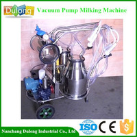 Dulong new product DL-M02-B female milking machine for goats