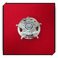 Factory direct sales custom metal army cap badge
