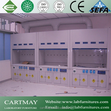 physical/chemical/biological steel lab fume hood