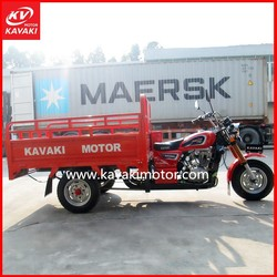 Gasoline 3 Wheel Cargo Tricycle Motorcycle 250cc For Adults Sale In Bangladesh