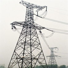 electric power distribution and transmission tower