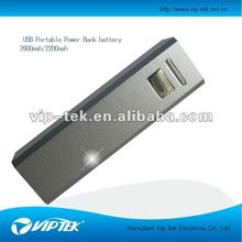 small size power charger for mobile phone 2200mah