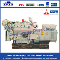 320kW MWM Deutz Marine Diesel Main Power Engine Generator set at 60HZ