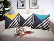 Decorative Sofa Cushion Cover Geometric Pillow Case Home Decor Modern style Cushion Cover