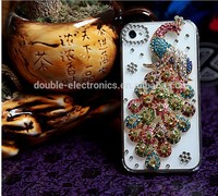 """Luxury Stand Flip Litchi Leather Diamond Mirror Bowknot Flower Wallet Case For apple iphone 6 Plus 5.5"""" Handmade Phone Cover"""