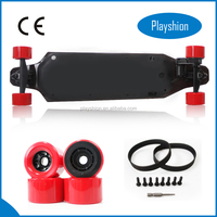 OEM Available Colorful Electric Plastic longboard skateboard / electric cruiser skateboard / electric skateboard for adults