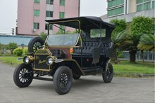 classic 4 seats electric convertible passenger car