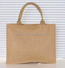2015 cheap plain jute tote bags/ cotton drawstring gift bag/ natural drawstring gunny bag