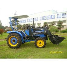 20hp jinma tractor mini precio de alta cantidad de equipo de granja tractor usado para la venta con 4 en 1 cargador frontal