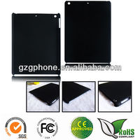 PC hard back cover case for ipad Air with rubber coating