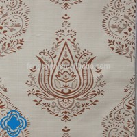 100% polyester new design jacquard fabric for curtain
