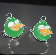2015 New fashion alloy bird dangle for necklace