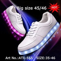 Waterproof Alibaba Led Light Running Men Shoes Price
