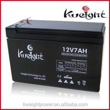 12V 7AH Longest Life UPS Electronic Vrla Soalr Battery