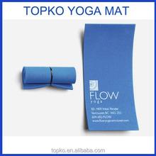 Wholesale cheap custom printed EVA min folding yoga business card mat