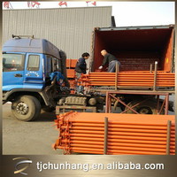 different size of galvanized iron pipe / galvanized iron scaffolding pipe / scaffolding pipe price