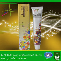 private label permanent professional yellow hair color cream company
