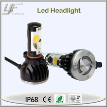 YF universal led headlight, 40w 12 volt led lights motorcycles H1 H11 9004 9005