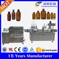 Auto pharmaceutical filling machine vial,4 head piston filler