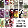 New design for 2015 Colorful Cute Cartoon Animal Owl Flower Soft Silicone Case For Samsung Galaxy S6 Edge Cover Case