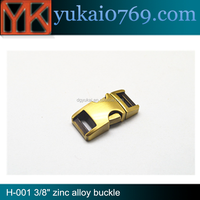 China supply types Custom adjustable side release metalt buckle