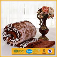 hot sale knitted afghan blanket,super soft berkshire blanket