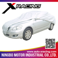 2015 small clear plastic disposable car cover