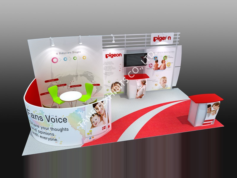 Trade Show Exhibition Exhibit Booth Design Ideas From Tanfu - Buy ...