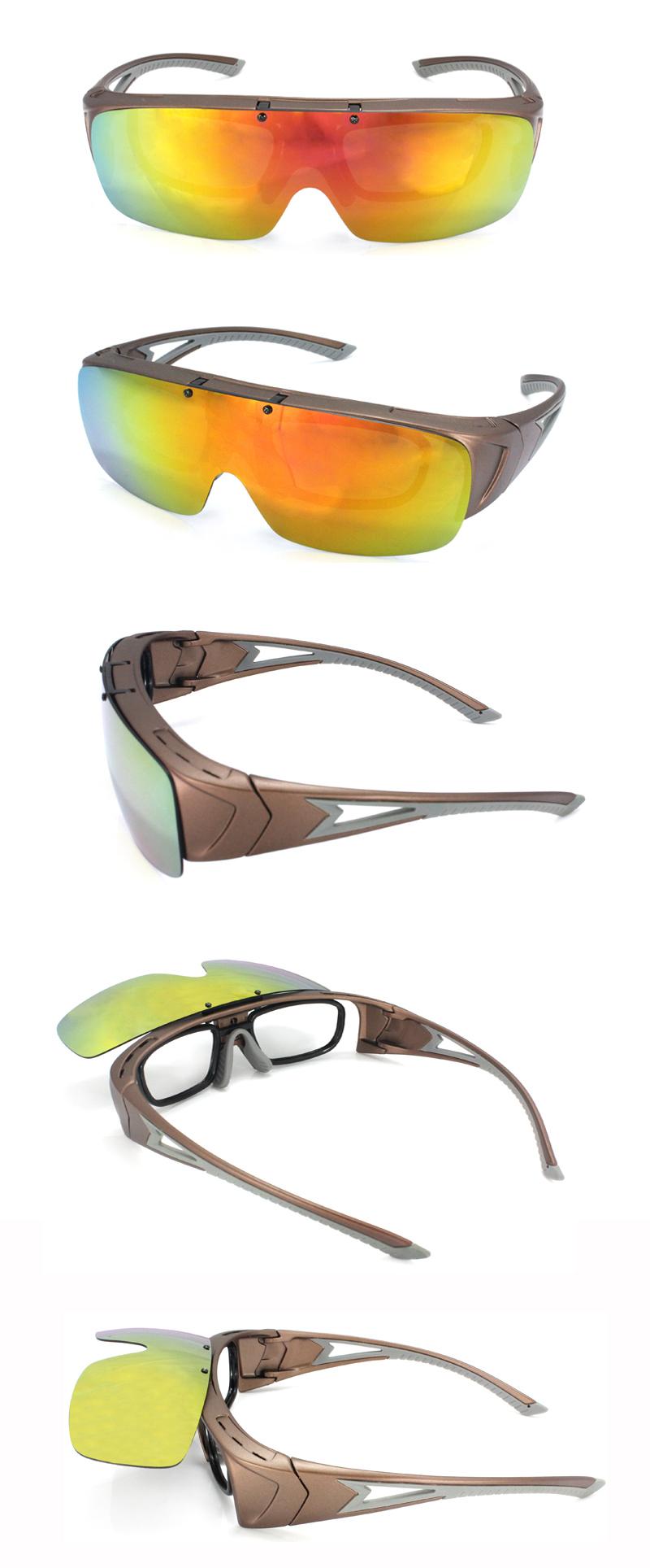 Panlees passen über brille Sonne rx optischen einsatz polarisierte ...