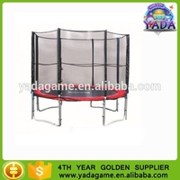 2015 New superior trampoline jumping equipment with safety enclosure fashionable game