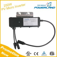 250W Micro PV solar inverters with ETL