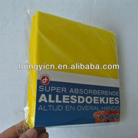 Super absorbent multi-purpose viscose & polyester nonwoven fabric computer screen wipe cloth