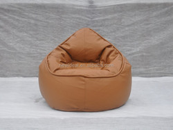 Microfiber PU leather bean bag chairs wholesale (NW918R)