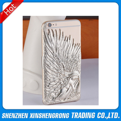 2015 newest 3D angle wings PC hard case for iphone 6 back cove