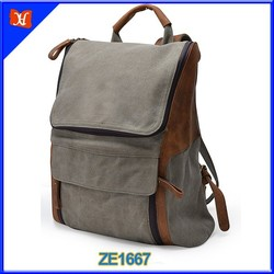 Durable Vintage Backpacks Hottest Canvas Travel Camping Laptop Backpack Rucksack Waxed Canvas School Backpack Hiking Backpack