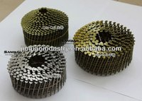 CLAVOS EN ROLLOS/2 1/4''x.099'' WIRE PALLET COIL NAILS CLAVOS HELICOIDALES SCREW SHANK ON SALE