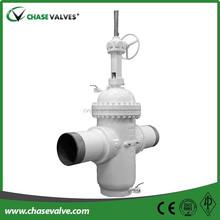 Casting slab full port slide gate valve,gate valve parts