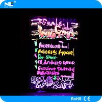 Alibaba cn 60x80cm wholesale display handwriting board advertising , led advertising light boar .led writing board .