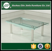 Dining room hot sell bent glass Coffee Table MCT-2197