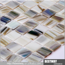 New Design! low price pearl crystal glass mosaic