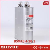 single phase 400v sh 0.4 kv 20 kvar bsmj oval new brand film capacitor