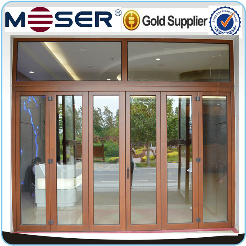 High end low u value entrance door with double glazed heat High end front doors